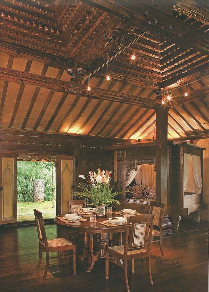 Home Interior Design: Joglo Home Modern Javanese | rumah ...