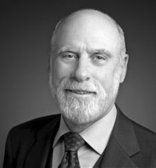 Vint Cerf Father of the Internet....