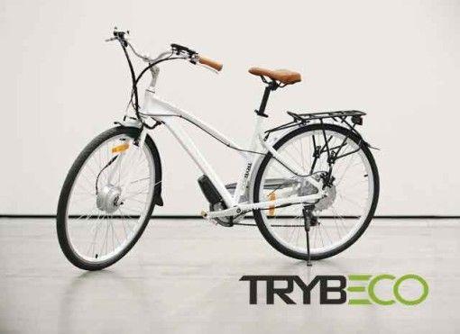 Do codziennej jazdy miejskiej - rower elektryczny Trybeco Luna