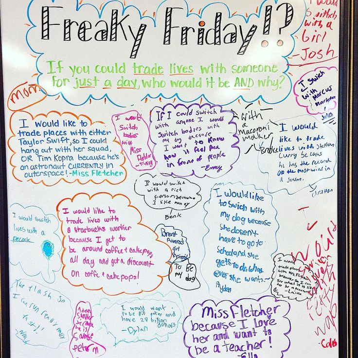 Freaky Friday | 5th Grade in Florida
