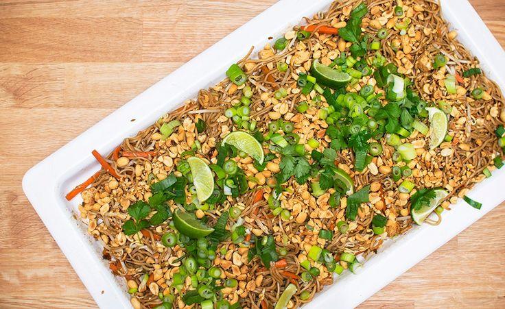 vegansk pad thai