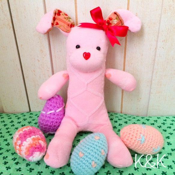 ソックバニー(ピンク)  女の子 #1