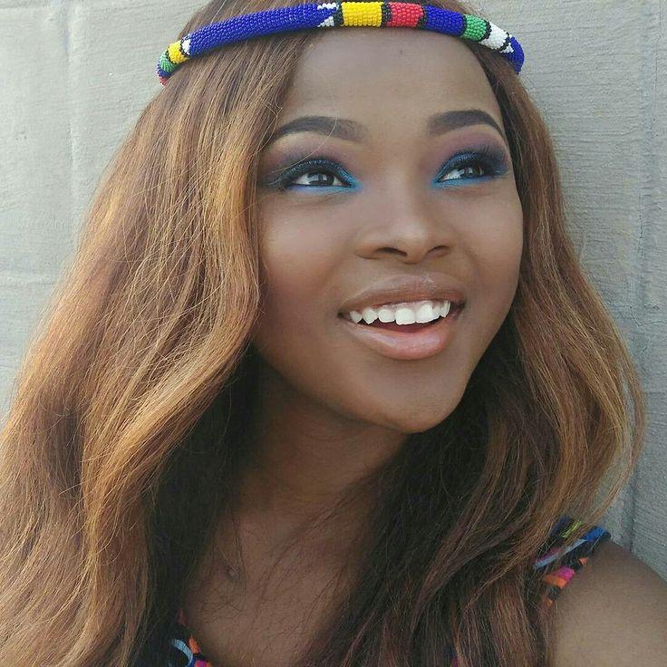 Zulu headband #zulu #culture #southafrican