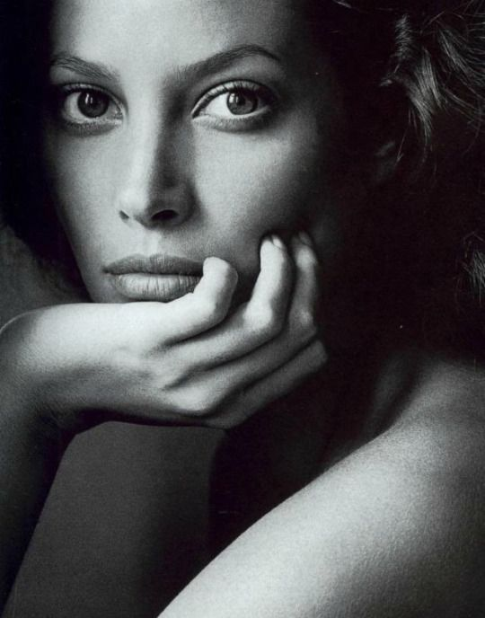 Nobody's Perfect - Vogue US (1994) Christy Turlington by Irving Penn
