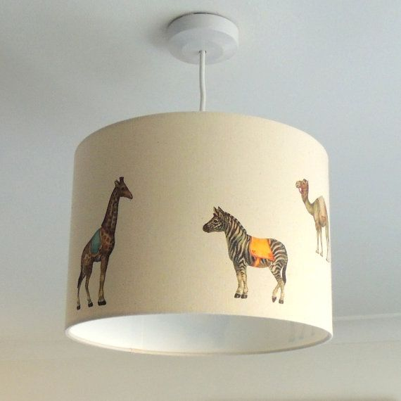 27 best nursery lamp shades images on pinterest lamp shades light victorian circus 20cm 30cm drum hand printed vintage retro nursery lampshade aloadofball