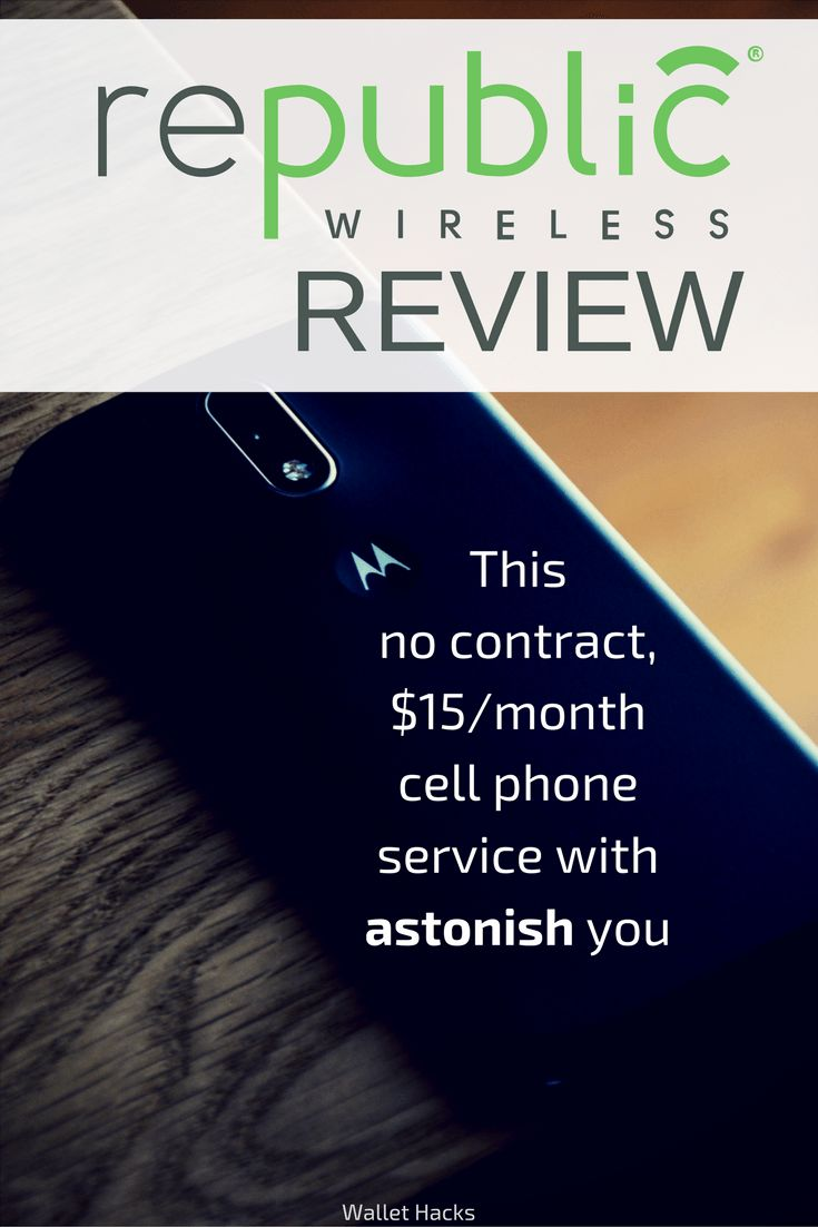 Do you believe you can get 4G LTE cell phone service for just $15/mo with no contract? Republic Wireless offers this and more, see our review and be prepared to pick up your jaw! | affordable cell phone service | frugal living tips | how to get cheap cell phone service | affordable cell phone providers || Wallet Hacks