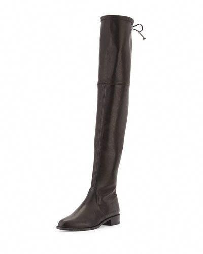 701234fc14d STUART WEITZMAN Lowland Stretch-Leather Over-The-Knee Boot.  stuartweitzman   shoes  boots