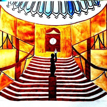 Titanic Staircase by Andreas Douglas Rörqvist