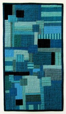 very cool: Victoria Gertenbach, Quilts Inspiration, Tired Of Wait, Boro Blue, Quilts Wall Hanging, Wallhang, Stitches Patches, Photos Shared, Quilted Wall Hangings