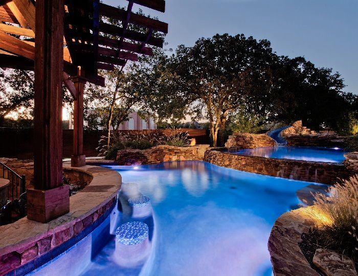 316 best Pool Lighting images on Pinterest | Swimming pools, Cool ...