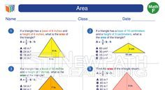 Check out our #Grade6 #Math #Study #Guide and #worksheet about Area on: https://newpathworksheets.com/math/grade-6/area-1