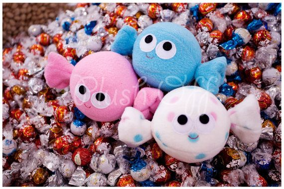 Candy Balls Postcard  1st Edition