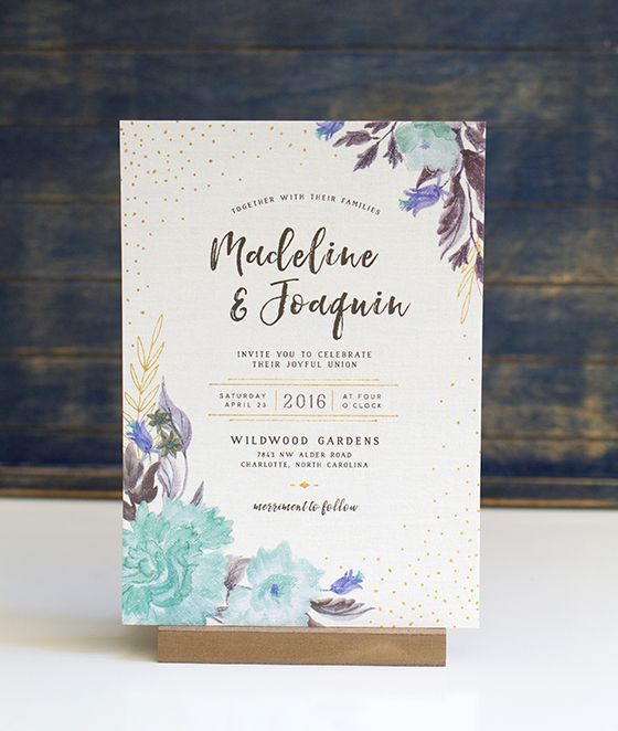 30 best Wedding Invitation Layouts images on Pinterest ...