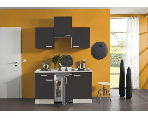 Singleküche faro 150 cm akazie