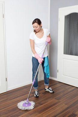 Best Way To Clean Laminate Flooring image titled clean laminate floors step 1 How To Clean Laminate Floors Without Streaking