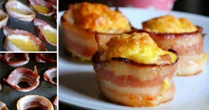 Egg and Bacon Toast Cups Recipe