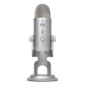 Blue Microphones Yeti USB Microphone - Silver Edition: Musical Instruments Disclosure:Affiliate Link
