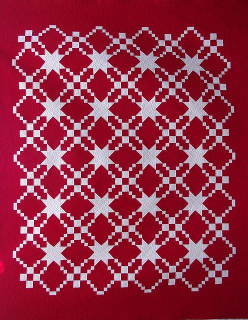Red  White Quilt   Flickr - Photo Sharing!