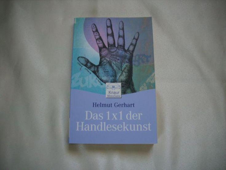 7) Buch: Das 1 x 1 der Handlesekunst, Preis 4€