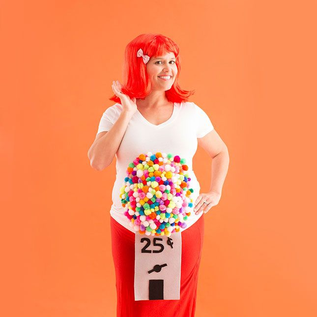 10 diy maternity halloween costume ideas for pregnant women - Pregnant Costumes Halloween
