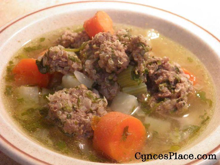 Albondigas Soup | Soups | Pinterest