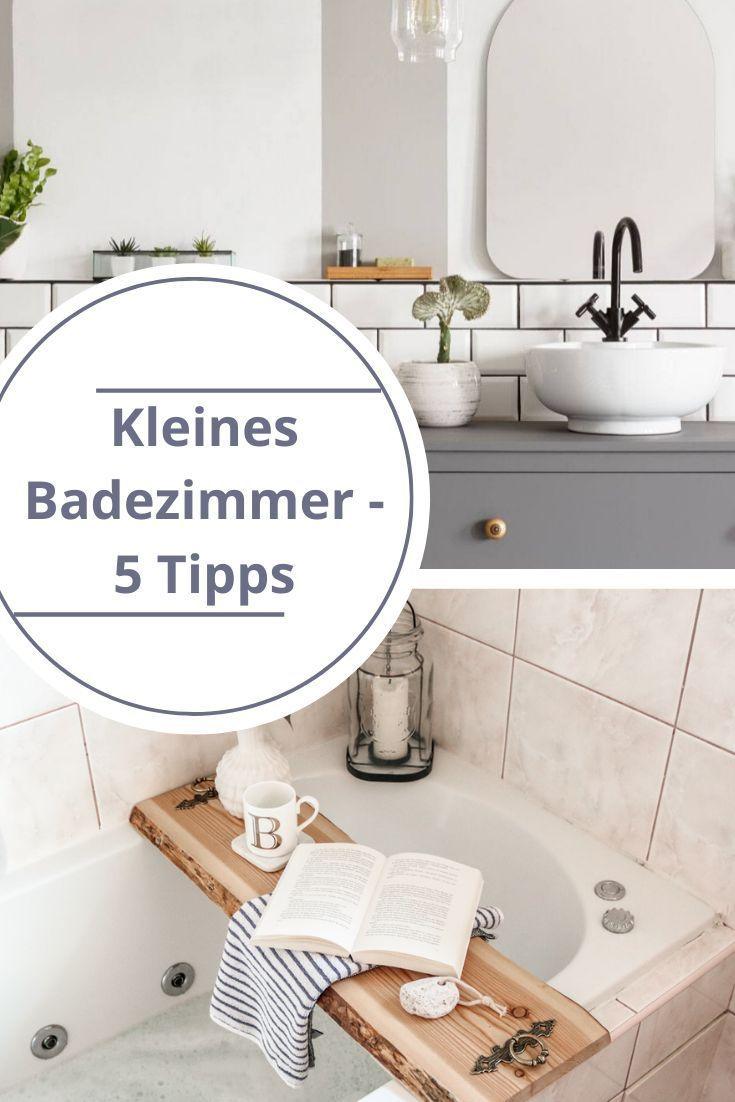 Kleines Badezimmer Mit Diesen 5 Tipps Wirkt Es Sofort Grosser Kleine Badezimmer Badezimmer Badezimmer Klein