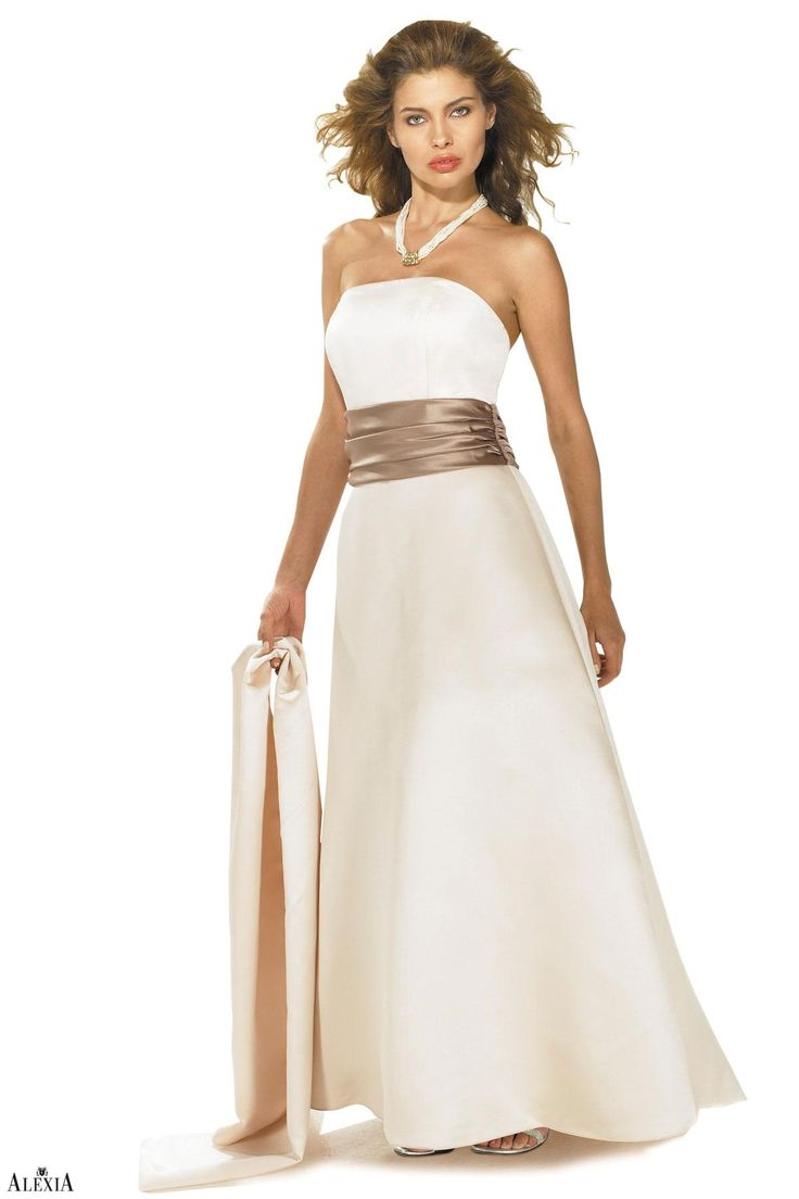 534 best misc bridesmaid dresses images on pinterest bridesmaid strapless prima satin a line bridesmaids gown with pleated cummerbund at waist on the ombrellifo Images