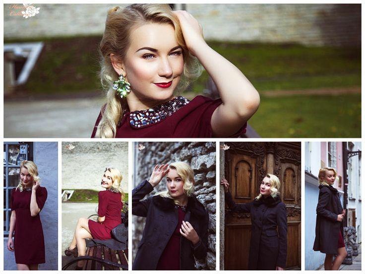 Пальто: be free Платье: H&M Обувь: C&A Серьги: Lindex Пояс: Top shop