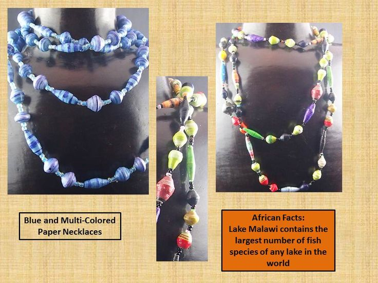 Brighten up the season with beautiful, beaded necklaces from us!