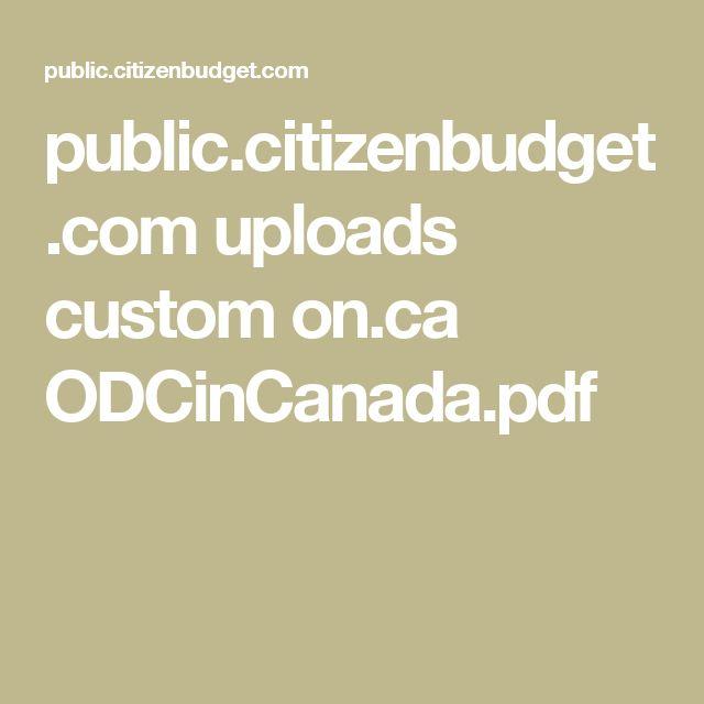 public.citizenbudget.com uploads custom on.ca ODCinCanada.pdf