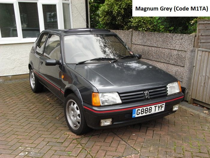 31 best Peugeot 205 GTI 1.9l Phase 1.5 images on Pinterest | Paint ...