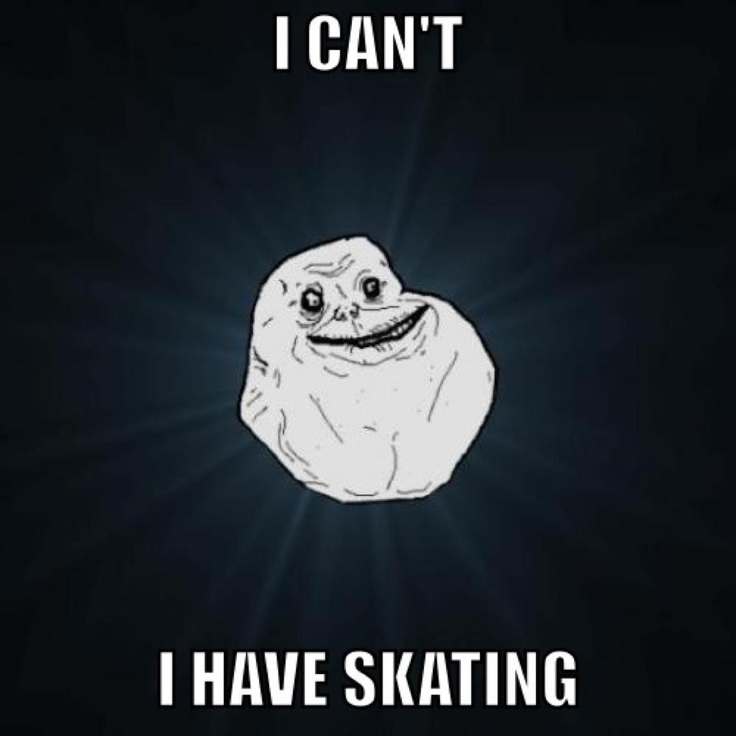 ALL THE TIME figure skating meme