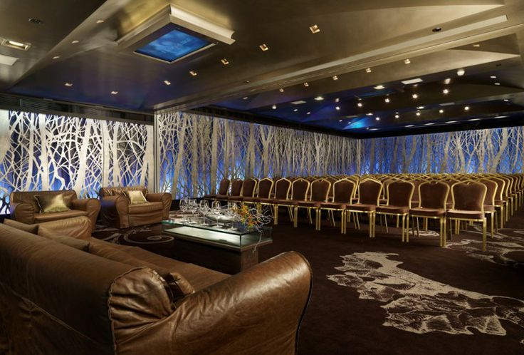 Silver Forest! An extremely striking banquet room that can host events from 30 to 300 people.  http://rbathenspark.com/