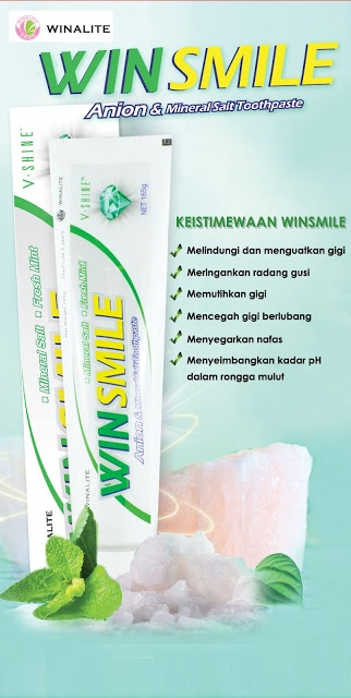 WIN SMILE : Pasta Gigi Yang Menjaga Kesehatan Mulut Dan Gigi Anda. http://happywinsmile.blogspot.com/
