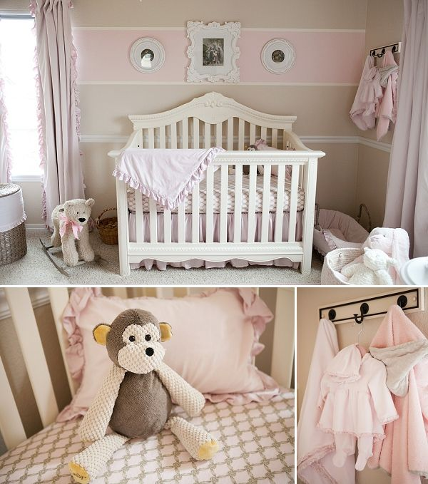 Factory Paint Decorating Color Filled Nurseries: 46 Best Images About Pink And Cream Nursery On Pinterest