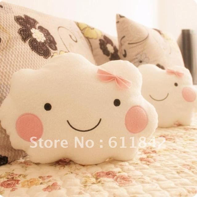 Aliexpress.com : Buy Free shipping 35cm 2 design cute cartoon smiling cloud stuffed plush pillow,plush seat cushion great gift, MOQ:1 pair from Reliable stuffed plush pillow suppliers on Qin Yun Hill Store