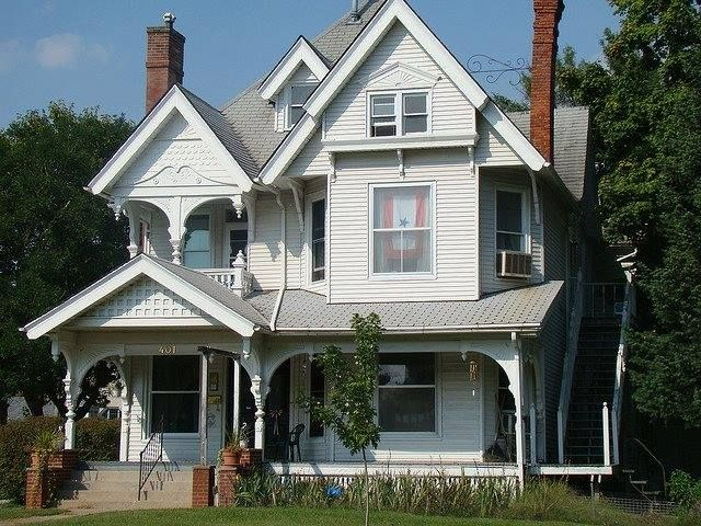 George Barber Home Mt Pleasant Ia Victorian Homes House Styles House