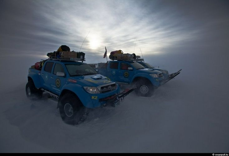 kazakh expedition to the south pole