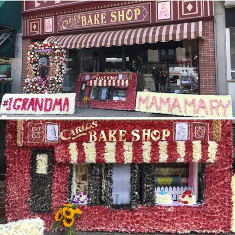 """Flowery Remembrance for """"Cake Boss"""" Buddy Valastro's Mother"""