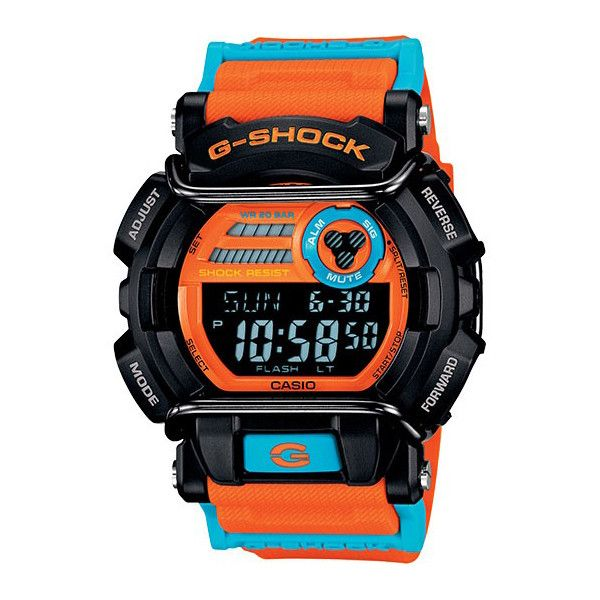 G Shock Gd400dn Watch Orange