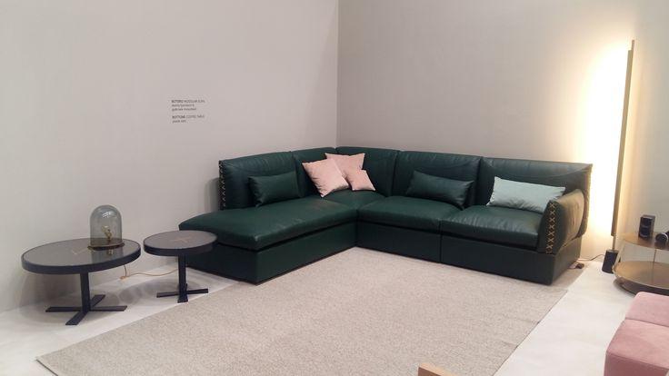Botero sofa and Bottone coffee table