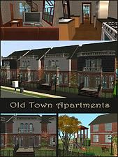 Mod The Sims - Old Town Apartments - Open for Rent, maxis content only