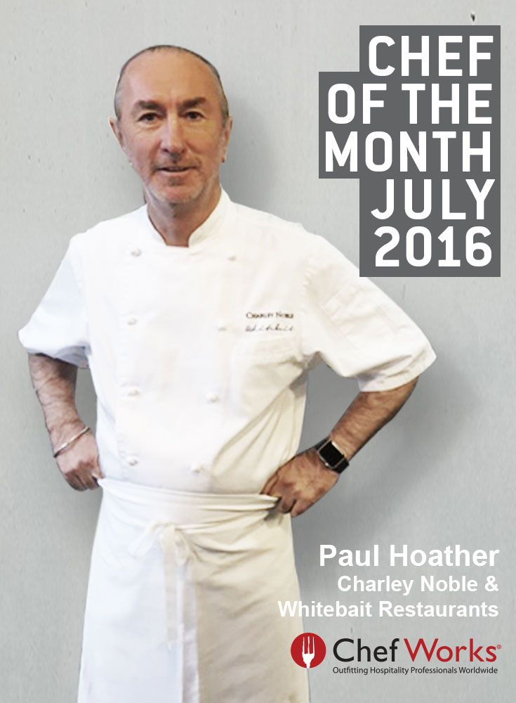 Introducing our July Chef of the Month, Paul Hoather, the Chef behind Whitebait and Charley Noble, New Zealand. This Chef is truly inspired by his location. His coastal restaurant, Whitebait, presents dishes based on local produce and New Zealand seafood.  #chefworks #chefworksau #chefofthemonth #Whitebait #CharleyNoble