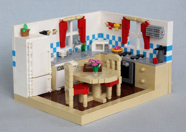 92 Best Lego Kitchen Images On Pinterest Lego Kitchen