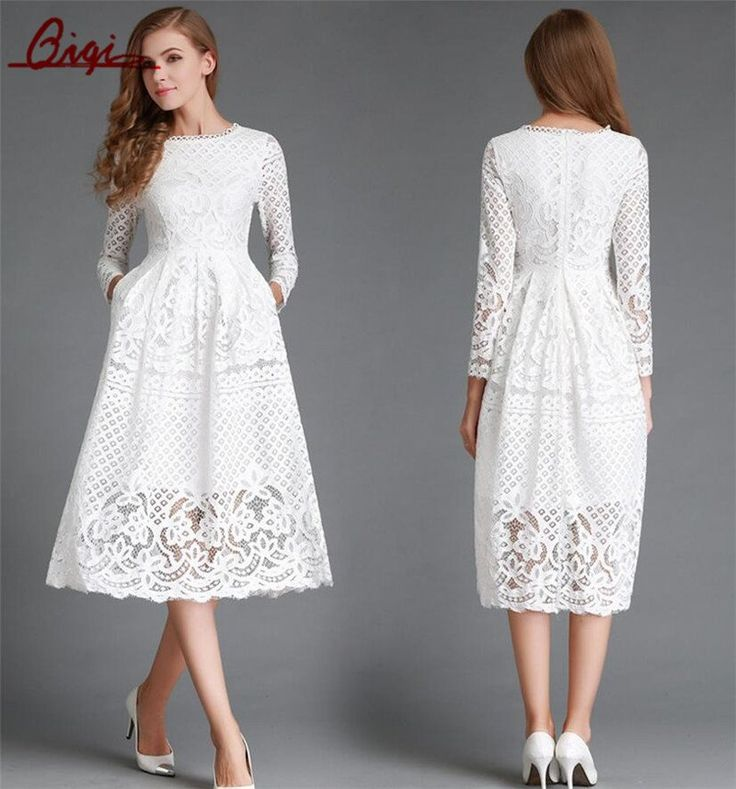 All White Party Dress - Little White Dress - Hippie BLiss