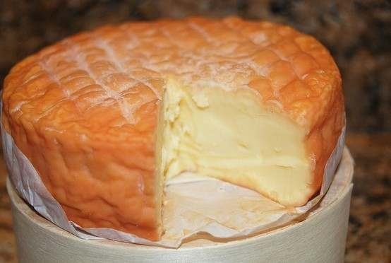 Epoisses cheese- King of ALL cheeses..... This one needs to ripen a bit more though...