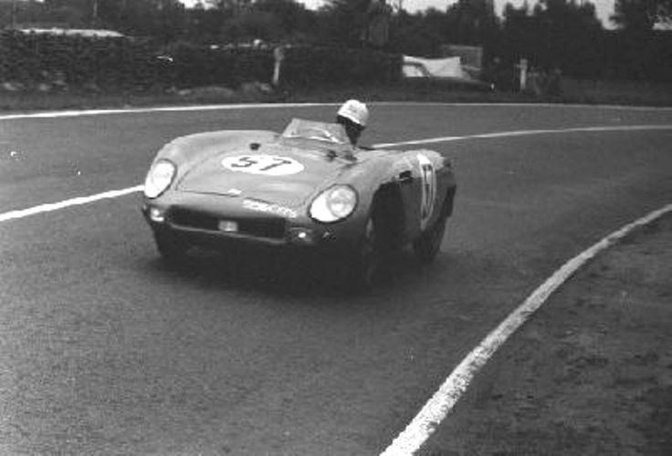 A great 1954 race for this DB (#57). It finished 10th ahead of such cars as two Porsches (1100 & 1500 cc), a Frazer Nash (1970cc), a 2.0L Triumph and a monster 4.6L Talbot. Not bad for a little 745cc Panhard engine.Kudos to the drivers and crew.