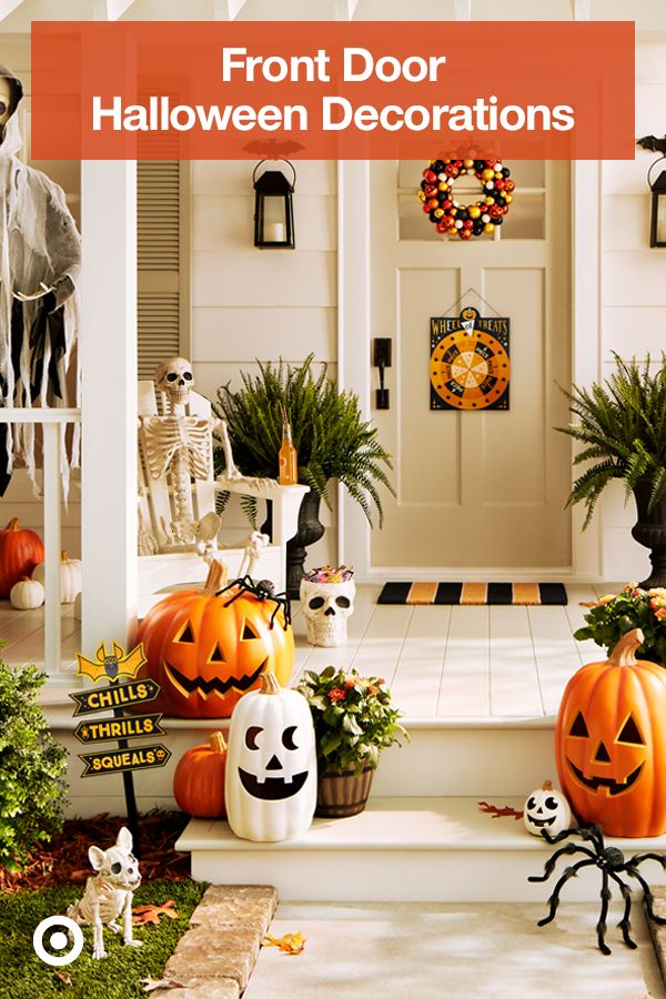 Share Halloween spirit with outdoor decor. Fun or spooky
