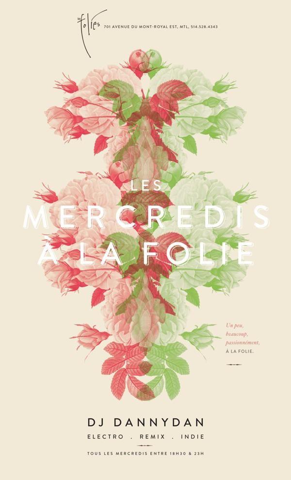 Les mercredi à la folies by Catherine Marois, via Behance