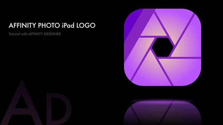 #13 Affinity Designer - Affinity Photo iPad Logo Tutorial [ DEUTSCH | GERMAN ]